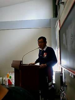 2007終了式 校長挨拶