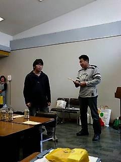 2007終了式 中学生