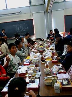 2007終了式lunch1