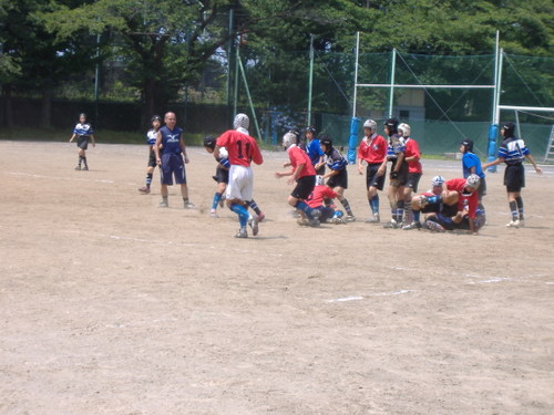 20080712 中学生 vs武蔵野5中